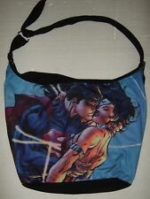 DC Comics Superman & Wonder Woman Embrace Hobo Bag Purse Loungefly Super Heroes