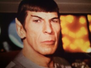 Leonard Nimoy Mr.Spock Autographed Photo: Star Trek The Motion Picture 1979