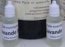Flacon 20 ml Huile Essentielle De Lavande Biologique Certifié Ecocert 32600
