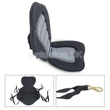Deluxe Adjustable Padded Sit On Top Kayak Seat + Detachable Canoe Backrest
