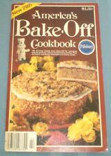 Pillsbury America's Bake-Off Cookbook #29 Coffee Cake Streusel Pecan Pie Squares