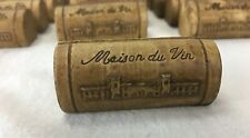 70 Wine Cork Maison du Vin Name Card Place Holders Weddings Party Winery Favors