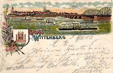 Lithographien aus Sachsen-Anhalt mit dem Thema Brücke