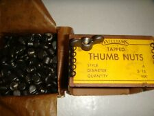 100 Williams 5/16-18 Thumb Wing Nuts O-De-755Cs7-5/16-18 Got No. From Other List