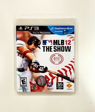 Juego de MLB 12: el show (Playstation 3, PS3) * Completo En Caja * * con Manual! * * ENVÍO RÁPIDO *