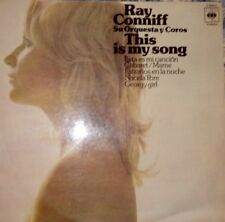 RAY CONNIFF - THIS IS MY SONG (1974 CBS ESPAÑA)  VG+/VG