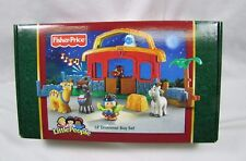 New! Fisher Price Little People CHRISTMAS NATIVITY LIL' DRUMMER BOY 2006 Music