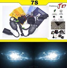 LED Kit 7S 50W 9007 HB5 6000K White Head Light Two Bulbs High Low Beam Lamp Fit