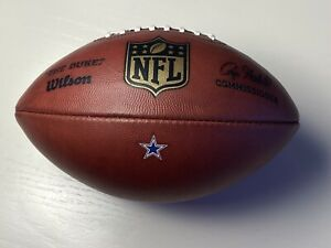 2015 Dallas Cowboys Authentic Used NFL Game Ball - Wilson The Duke Football