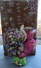 Jay Strongwater Mille Fiori Rooster Ornament Swarovski Elements New in Box