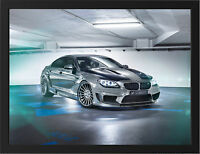 2014 BMW M6 HAMANN MIRROR NEW A3 FRAMED PHOTOGRAPHIC PRINT POSTER
