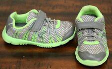 Clarks Gray Mesh Sneakers sz 8.5 W Wide Boys Shoes Summer