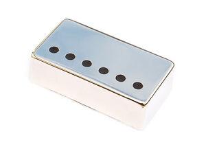 Nickel Silver Humbucker Guitar Pickup Cover • Nickel • 50mm