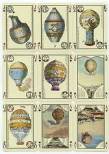Les Montgolfiéres 1783 France playing cards French deck