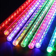 Meteor Shower Falling Star/Rain Drop/Icicle Snow LED Xmas Tree RGB String Light