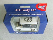 Rare 2000 AFL Football Collectable Club Car COLLINGWOOD MAGPIES T Model Ford