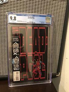 Deadpool: The Circle Chase #1 - CGC 9.8 Marvel Comics