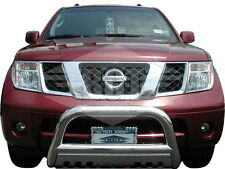 Bgt 2005-2015 Armada Front Bull Bar With Plate Bumper Protector Guard S/S