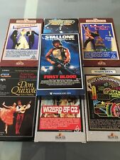 Betamax Movies X7 First Blood, Wizard Of Oz