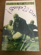 SHADZ OF LINGO I STEP 2 U DEN FACTORY SEALED CASSETTE SINGLE 5