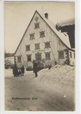 AK Ettal, Klosterwirtschaft, Gasthof, Winter 1915
