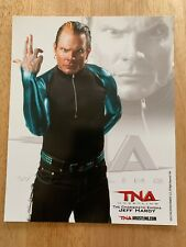 JEFF HARDY OFFICIAL 2010 TNA WRESTLING 8X10 PROMO PHOTO UN-SIGNED WWE ECW AEW