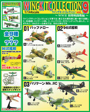 F-Toys Wing Kit Vol.9 1/144 scale painted WW2 military Plane plastic models