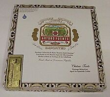 ARTURO FUENTE - CHATEAU FUENTE WOOD CIGAR BOX - Guitar - Jewelry Box - Crafts