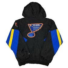 Vtg Rare NHL St Louis Blues Starter Jacket. Mens XL