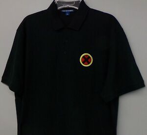 X Men Marvel Comics Mens Embroidered Collectible Polo XS-6XL, LT-4XLT  New