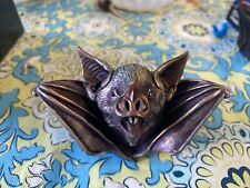 Harmony Kingdom Neil Eyre Halloween vampire Bat face Box Pot Bling Eyes
