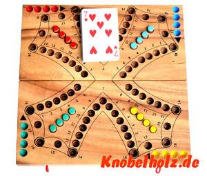 Tock Tock Dog Spielbrett  für 4 Spieler Knobelholz Tock Gesellschaftsspiel