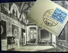 OLD PPC + POSTE VATICANE 1929 STAMP:VATICANO~APPARTEMENTO BORGIA~SALA DEL CREDO