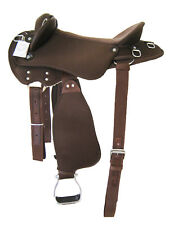 "WESTERN AUSTRALIAN SYNTHETIC BARCO SADDLE SET BROWN 15"" (1021BR)"
