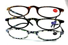 UV 0566 Lady Reading Glass Color Frame +2.50 3 for 1 price