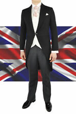 Men's One Button Morning Wool Suits & Tailoring