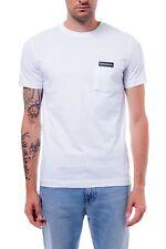 CALVIN KLEIN JEANS - T-shirt uomo con taschino logo
