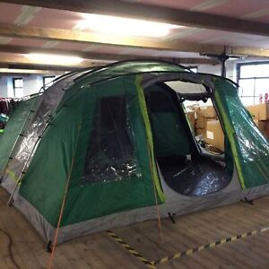 COLEMAN OAK CANYON 6 PERSON MAN FAMILY GREEN TENT 2 BEDROOMS RRP £449