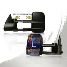For 1999-2002 Chevy Silverado 1500 2500 3500 Rear View Towing mirrors