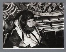SHORT STIRLING BOMBER FRONT GUNNER RAF WW2 VINTAGE ORIGINAL PRESS PHOTO GRAPH
