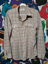 Vintage 70s 80s Levi's Soft Thin Button Down Shirt size Large
