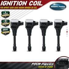 4x Ignition Coils for Infiniti QX56 11-13 QX80 14-19 Nissan Armada 17-20 V8 5.6L