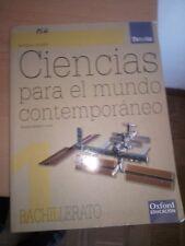 Ciencias para el mundo contemporaneo, Tesela, Bachillerato, Oxford