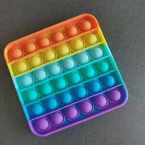 Extrusion Push Pop It Bubble Wrap Fidget Anxiety Sensory Toy Stress Reliever NEW
