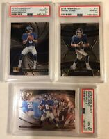 Daniel Jones 2019 Select Prizm Rookie Lot of 3 RCs PSA 10 GEM