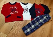 Gap Boys 4pc LOT/ (1)Plaid Pants, (3)Matching Shirts / EXCELLENT CONDITION!