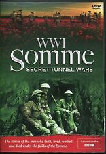 WWI SOMME SECRET TUNNEL WARS DVD - AS SEEN ON THE BBC - Battle Of The Somme