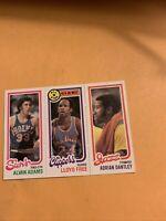 Alvan Adams Lloyd free Adrian Dantley 1980 81 Topps Basketball Card Cb18