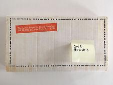 1968 S.M.S. #2 PORTFOLIO SHIPPING BOX sms copley duchamp lichtenstein christo