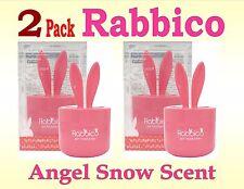 2 Pack-RABBICO Rabbit -Car, Home Air Freshener . Diax Japan - Angel Snow Scent